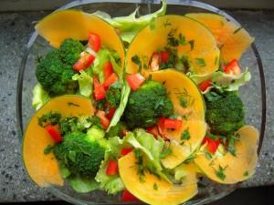 Dynia, brokuły, papryka, ogórek kiszony,czosnek, zioła