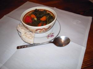 Jarmuż  Zupa jarmużowa