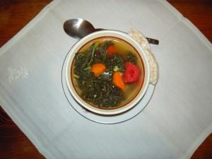 Jarmuż powraca pod postacią zupy
